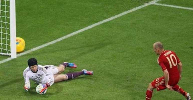 Arjen Robben in that penalty miss