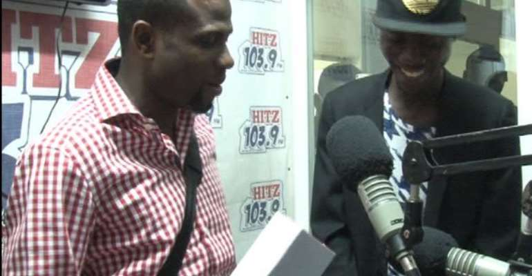 Winner of maiden edition of hottest DJ receives prize