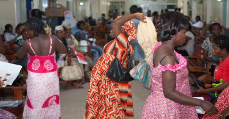 Security men turned middle men at Kaneshie Polyclinic