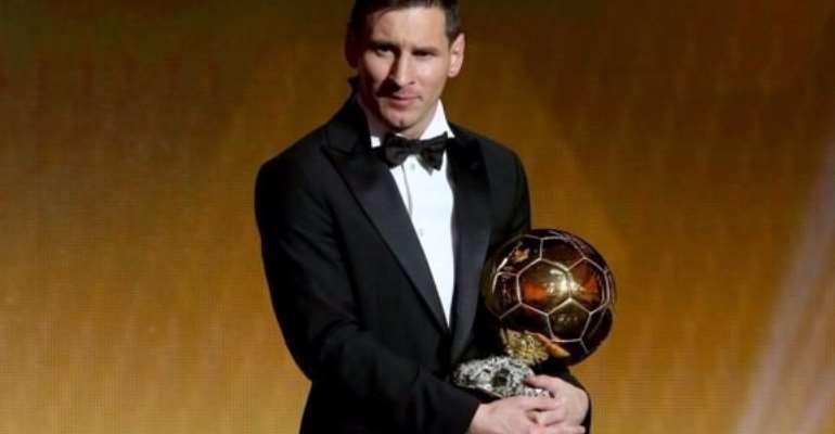 Lionel Messi wins Ballon d'Or for record fifth time to defeat Cristiano Ronaldo