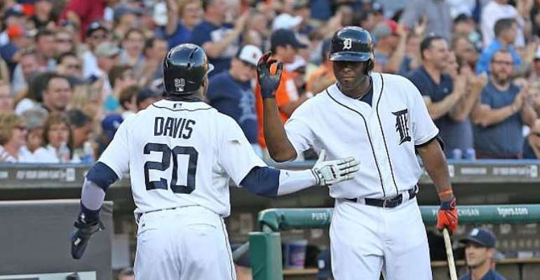 Detroit Tigers rally to blitz the Los Angeles Dodgers