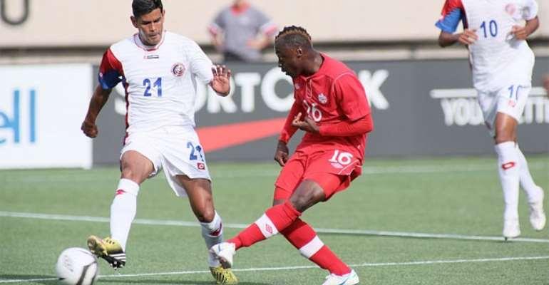 Randy Edwini Bonsu scored for Kickers in Germany