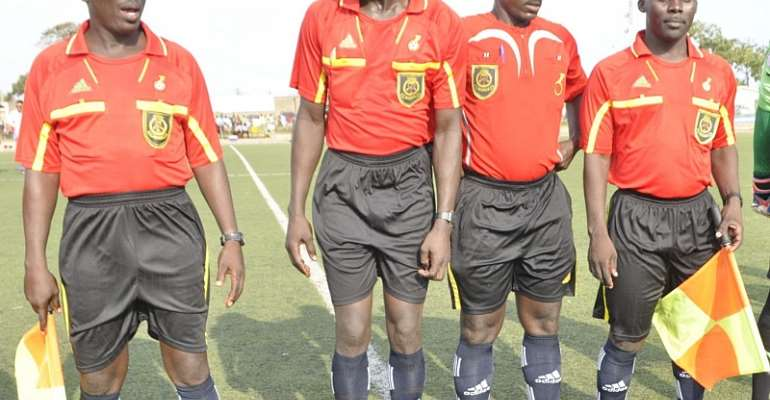 'Mathematics teacher' referee Ali Alhassan handed Dreams-Kotoko clash; match officials appointed