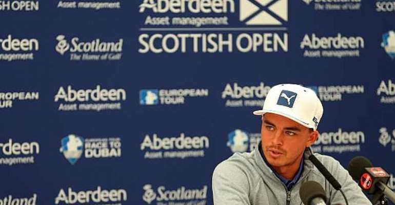 Winner: Rickie Fowler keen to challenge at The Open Championship