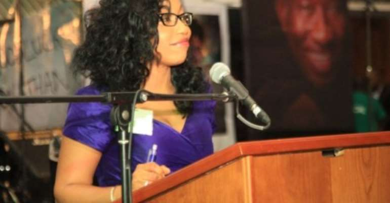 ACTRESS RITA DOMINIC BREATHTAKING SPEECH AT THE LUNCH DATE WITH PRESIDENT JONATHAN