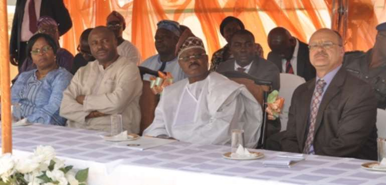 Governor Of Oyo State Commissions Facilities At IITA-Ibadan