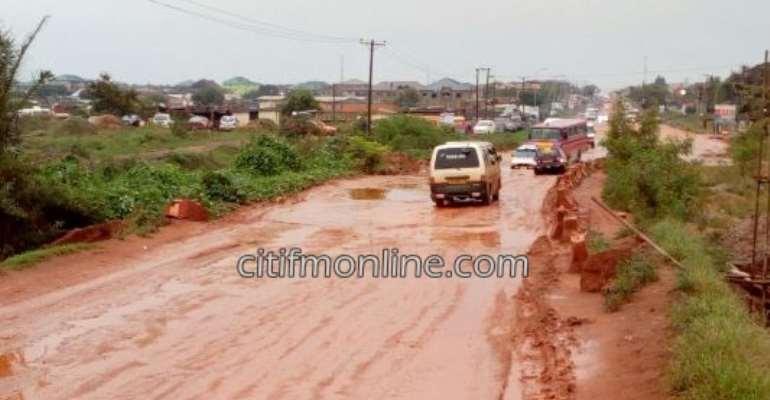 Tema motorists threaten demo over deplorable roads