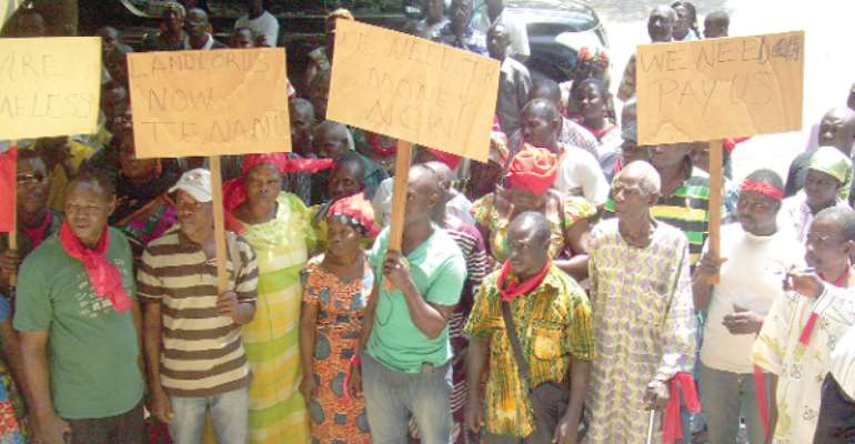 Project-affected persons threaten to block highway