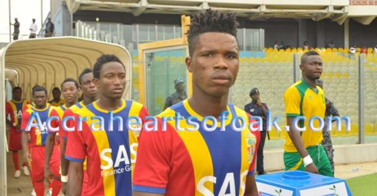 Robin Gnagne: French side FC Cayenne  table offer for Hearts defender – report