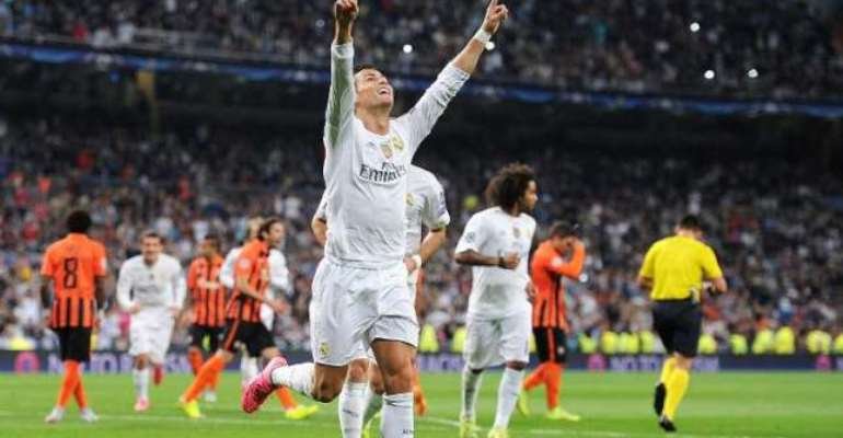 The best: Ronald is all time top-scorer in Champions League with 80 goals