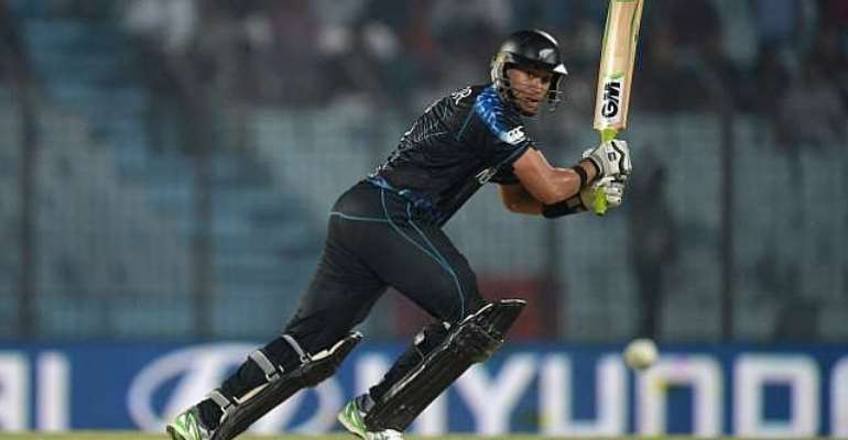 Ross Taylor believes rain aided New Zealand's T20 win over West Indies