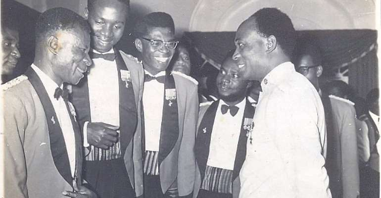 The fallacy of British colonial government leaving huge sums of money to Nkrumah's government