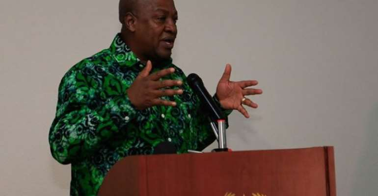 Live From The Woods: President Mahama's Hands Are Tied In Gitmo 2 Deal