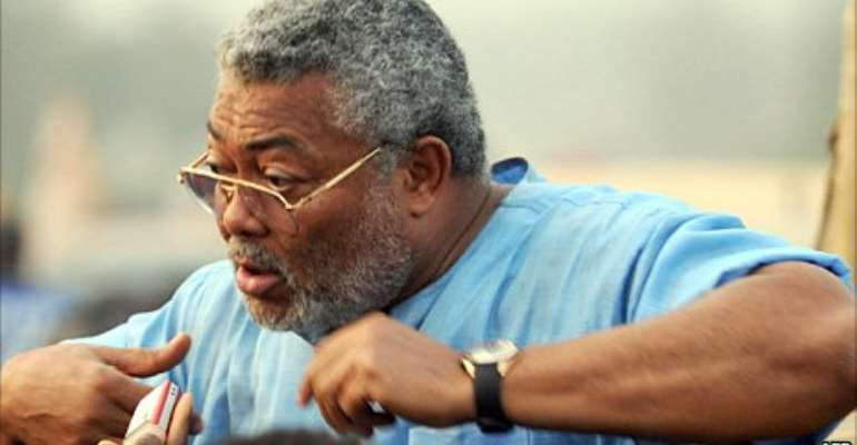Former President Rawlings is still a Criminal until he apologises to........