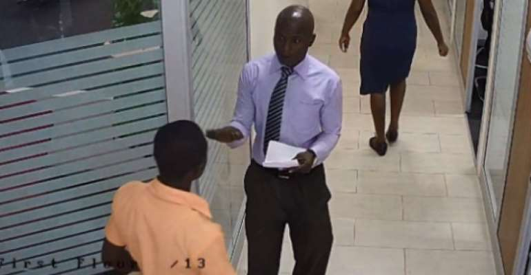 Bank fraudster arrested trying to dupe another customer