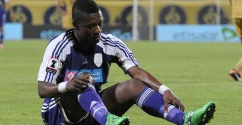 Asamoah Gyan's coach reveals Ghana skipper still isn't fit