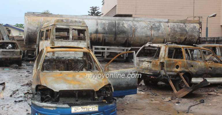 Gov't pays over ¢500,000 for treatment of burns victims in June 3 disaster