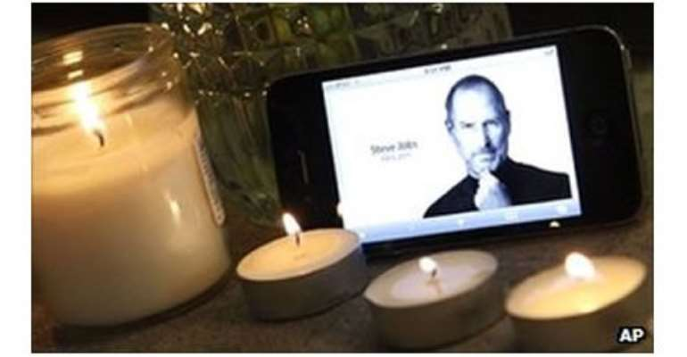Steve Jobs died in October 2011 after a long battle with cancer.