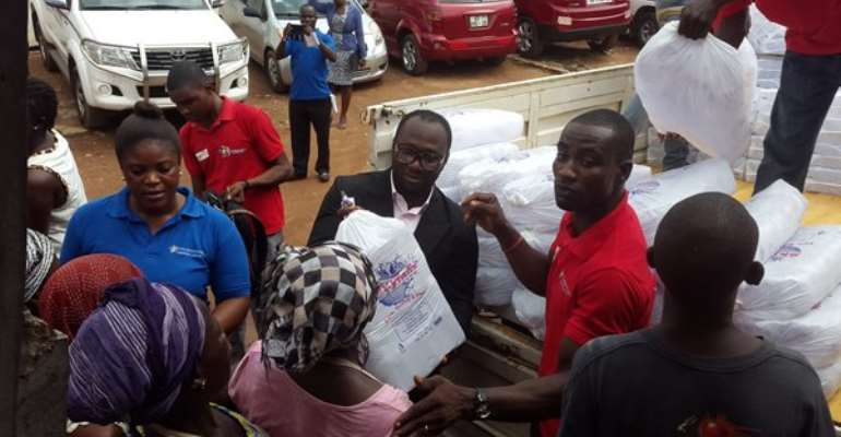 Skyfalls, others donate to flood/fire victims