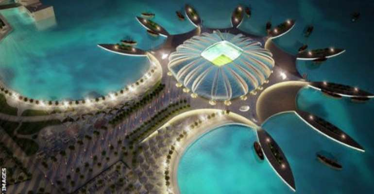 Qatar World Cup construction 'will leave 4,000 migrant workers dead'