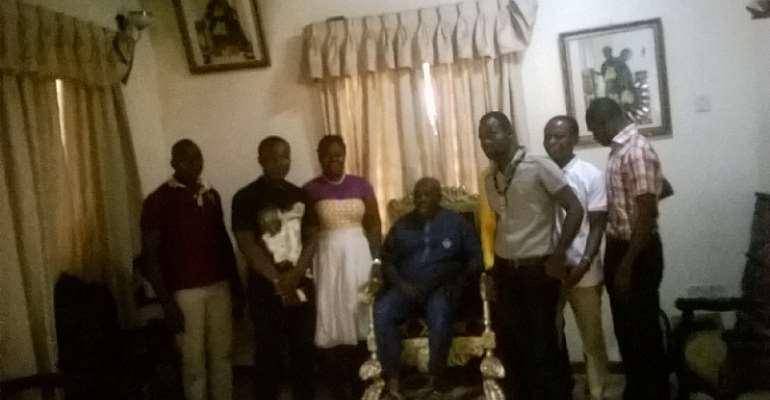 Okyeman Youth Association Meets Okyenhene