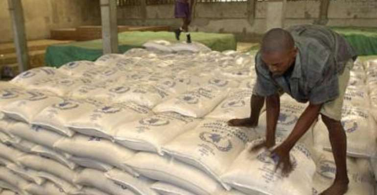 40,000 bags of imported rice seized