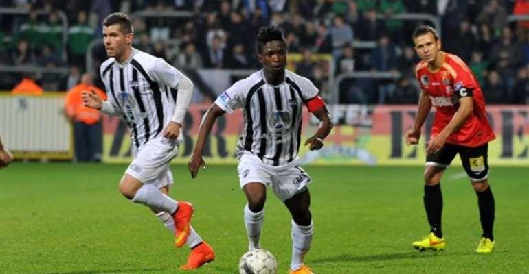 Samuel Asamoah scored a brace for AS Eupen