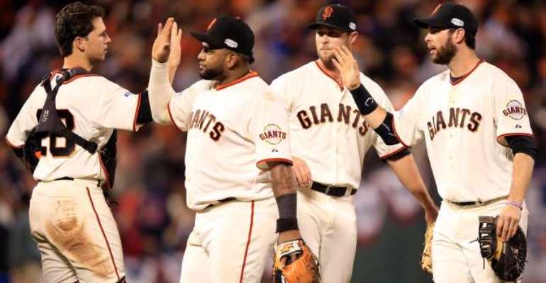 San Francisco Giants rally to square World Series