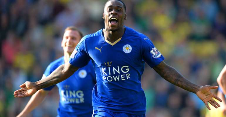 Ghana defender Jeffery Schlupp is part of the Leicester City squad