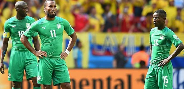 Injury time penalty sends Ivory Coast out of World Cup