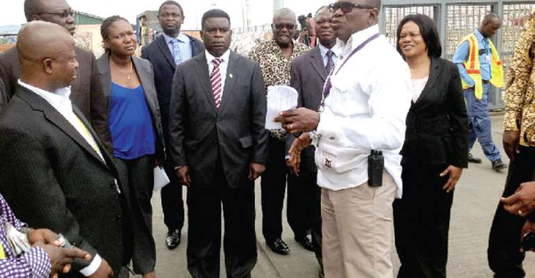 Shippers Governing Council tours cargo village