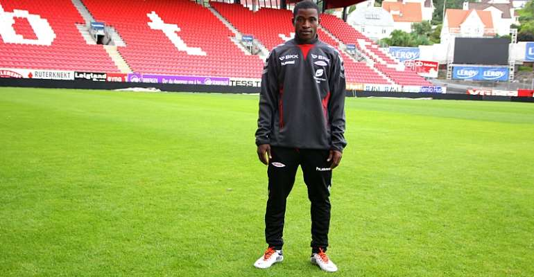 Liberty Professionals midfielder Kennedy Ashia during his days with SK Brann
