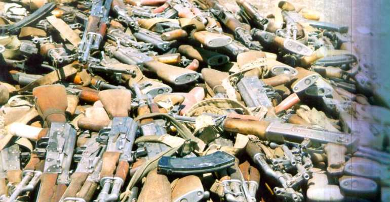 Take care to criminalize manufacture of small arms - MP