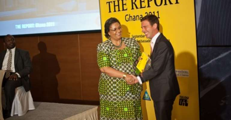 Oxford Business group launches report on Ghana's oil discovery