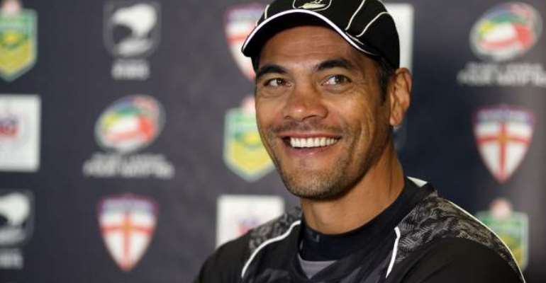 Tough and competitive: Stephen Kearney: New Zealand withstood English challenge