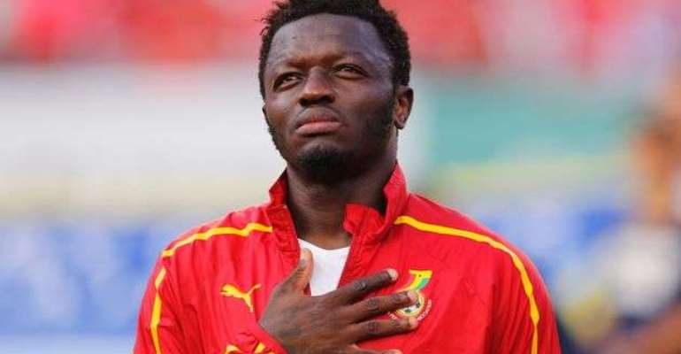 Sulley Muntari still serving indefinite ban from the Black Stars