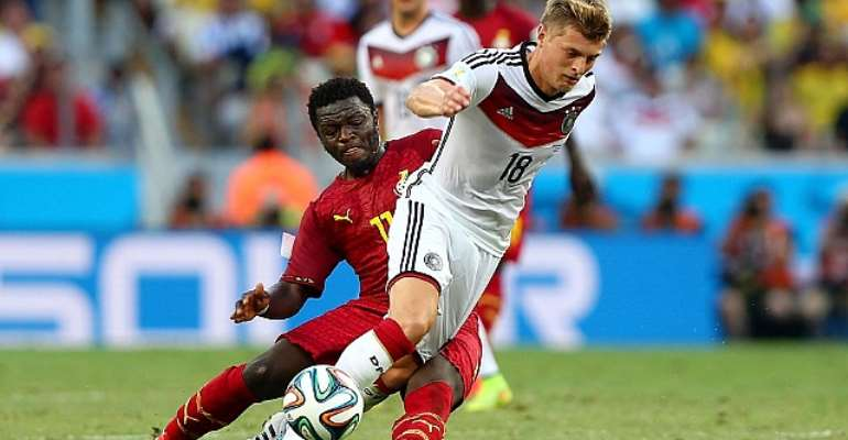 2014 World Cup: Ghana coach rues Sulley Muntari loss but confident of finding right replacement