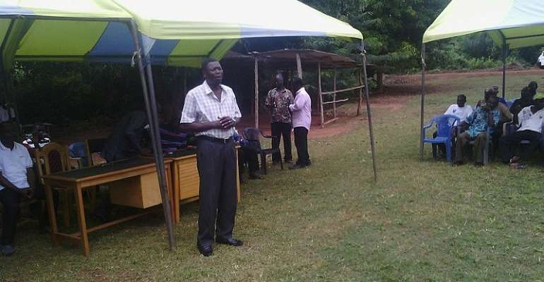 Efforts To Boost Agriculture: Krobo Area Gets Two Irrigation Dams