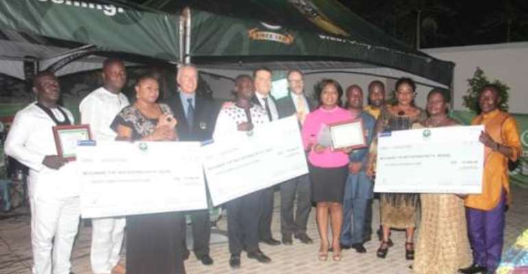 Accra Brewery rewards its distributors
