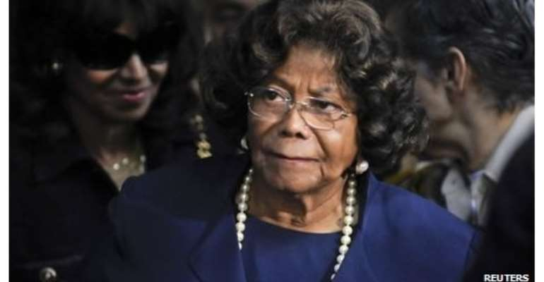Katherine Jackson said she had been resting at a spa under doctor's orders.