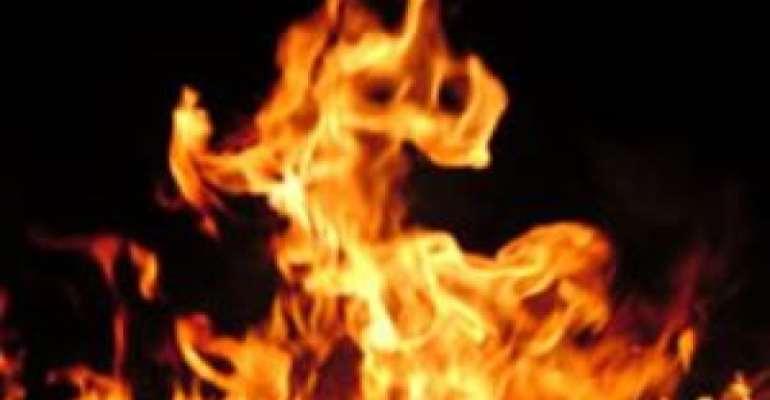 2yr Old Fulani Girl Burnt To Death In Atebubu