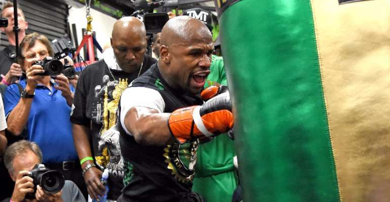 Mayweather chasing KO against Andre Berto on Saturday