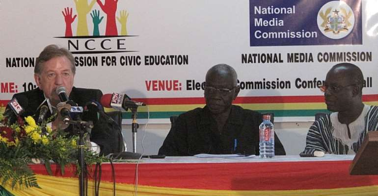 European Union extols Ghana's democratic process