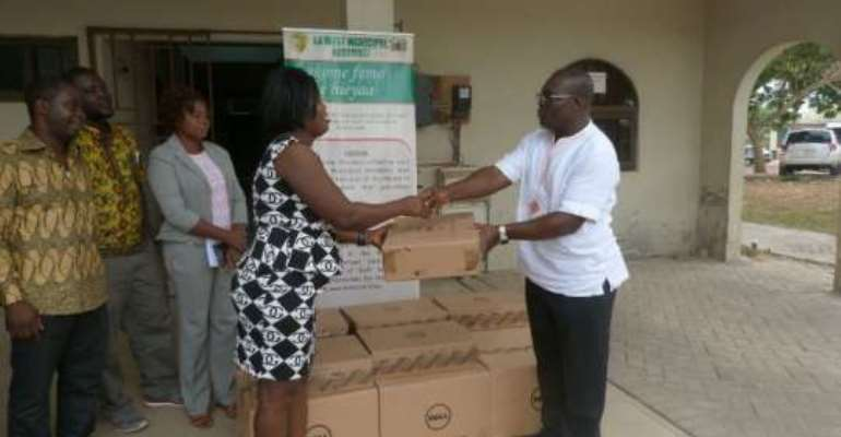 Ga West MCE donates to zonal councils