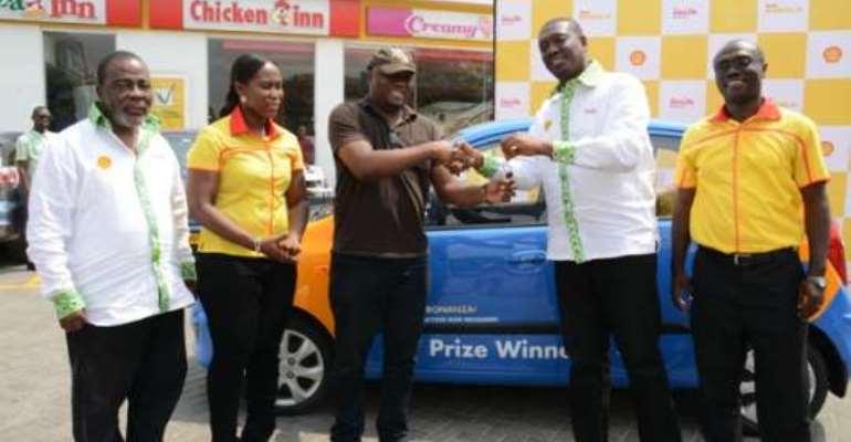 Shell awards final Akyede Kese winners