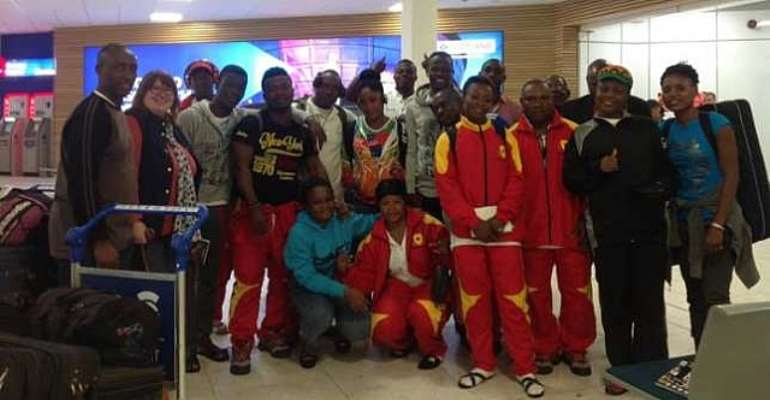 Commonwealth Games: Ghana's athletes land in UK for 3-week pre-camp