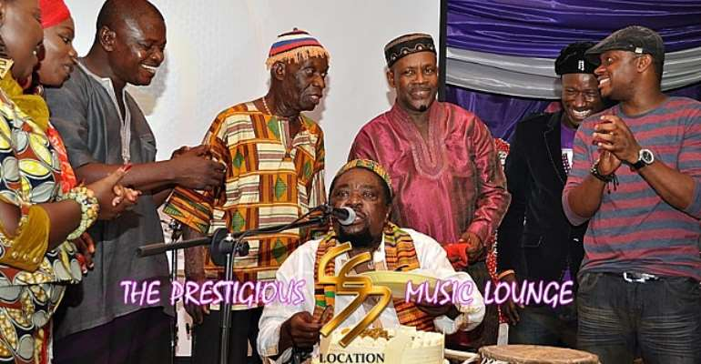 Teddy Osei, Osibisa Band thrills fans at birthday party