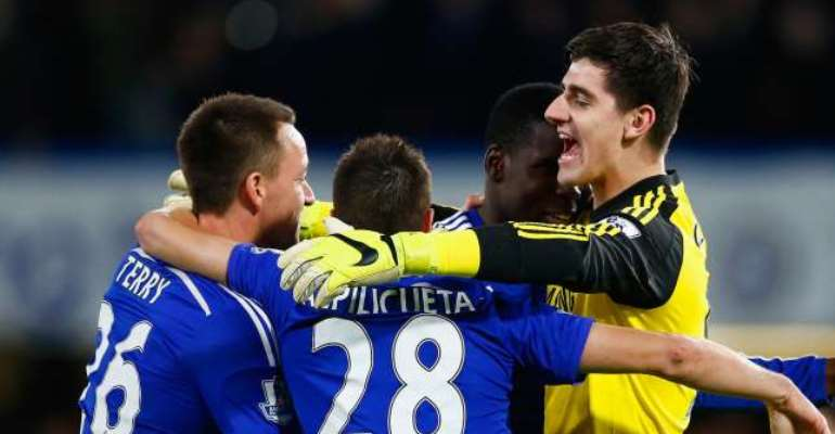 Liverpool manager Brendan Rodgers claims goalkeeper Thibaut Courtois saved Chelsea