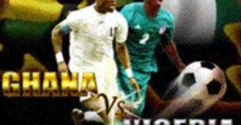 Ghana 4 Nigeria 1: Full Time of the game by dilaso