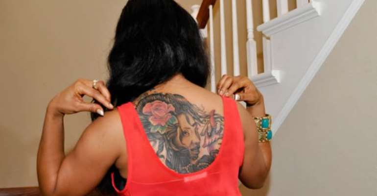 Video & Pictures: Tonto Dikeh, Tattoos, and More
